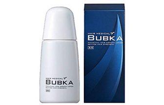 濃密育毛剤BUBKA(ブブカ)をレビュー比較評価!効果・成分を徹底解説!