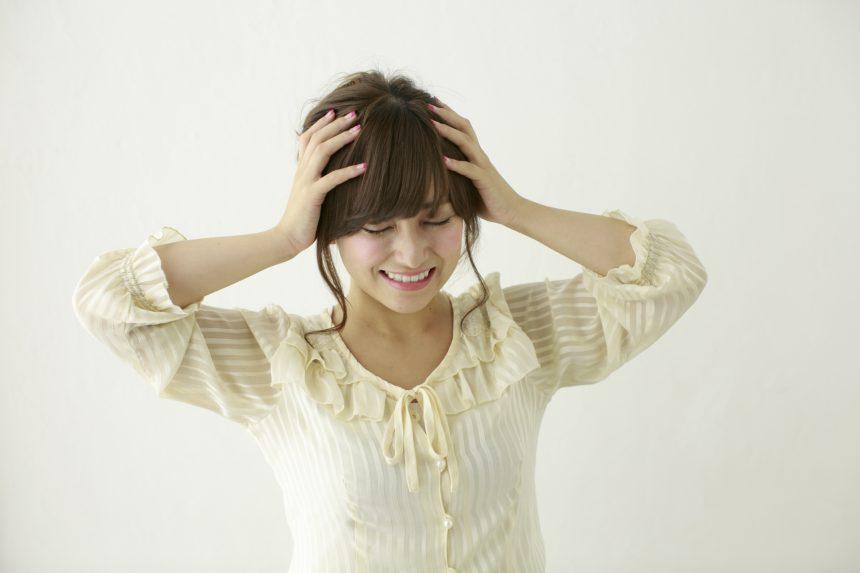 頭皮を押すと痛い!それは薄毛のサインかも!原因と対策は?